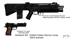 Unified States Standard Marine Corps Kit by gool5000