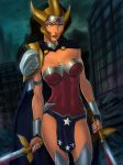 Flashpoint Wonder Woman armored up by SunsetRiders7