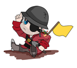 Chibi Major by OkamiArtist