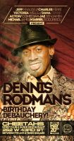 dennis rodman bday flyer by sounddecor