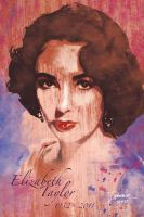 Tribute to Elizabeth Taylor by DaggerPoint