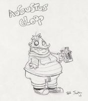 CHARLIE SERIES: Augustus Gloop by dustindemon
