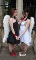 Lesbian Angels stock 22 by Random-Acts-Stock