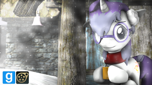 Fluffy Headphones (Prop/Paintable) [DL] by WhiteSkyPony