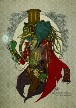 . The Alchemist from Luxodanta . by blackgothique