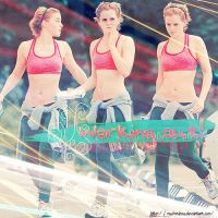 Emma Watson Go to the Gym' by MyShinyBoy