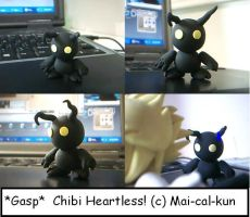 Chibi Heartless by Mai-cal-kun