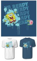 SPONGEBOB TSHIRT IDEA 2 by optimusdesigns
