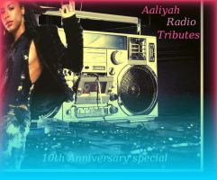 aaliyah album cover by camomile85