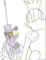 Poor Dimentio -WiP- by ToothandFang