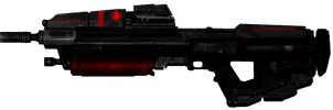 Modified Pyrotechnic Assault Rifle Re-visioned... by CommanderNova702