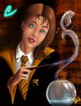 Irma Lair on Hufflepuff by andre-ma
