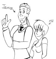 James And Me by drawitbig