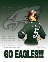 2009 Eagles Schedule by SlimmmGoodie