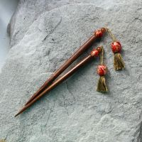 Persia - tassel hairsticks by TheFarGrove