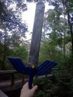 Duct Tape Master Sword by MaySplash