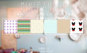 Mini Random - Patterns by Ihavethedreamersdise