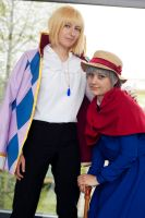 Howl's moving castle ~ the charmer and the lady by Mirazie