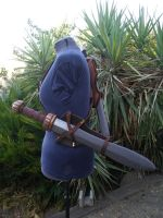 Celtic Double Baldric -side- by BanesArmory