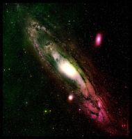 Andromeda-Messier-31-Hubble-fits-adapded-by-damyli by damylion