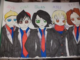 My first MCR Draw by BAStheVAMPIRE