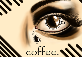cry me a coffee by AbsoluteNow
