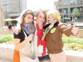 Hungary, Wy, and America at Animazement by JustMeBeingADork