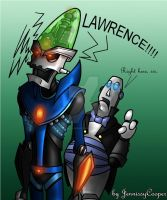 LAWRENCE -Coloured version by JennissyCooper