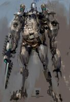 20150820 Rough Mech Psdelux by psdeluxe