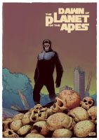 Dawn of the Planet  of Apes by DiegoOlortegui