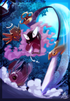 PKMNation - Gym Battle : Double Duel by TamarinFrog