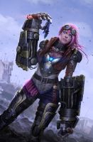 Polycount League of Legends Contest Entry: Vi by tekkoontan