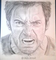 Hugh Jackman by VadDraw
