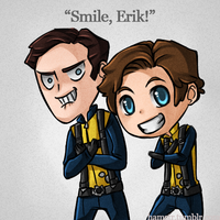 XMFC: Smile, Erik by ozamham
