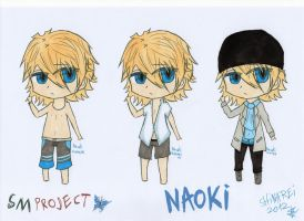 SMproject: Naoki- other clothes colour sets by shinarei
