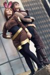Looking To The Future - Velvet and Coco by artfulxXxcosplay