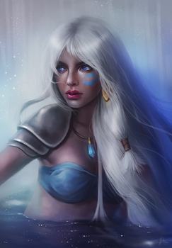 Princess Kida by Sandramalie