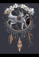 Dreamcatchers: Silver, stardust and lilies by IIMD