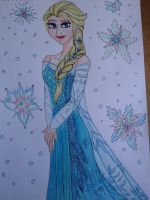 Elsa finished by Laineyfantasy