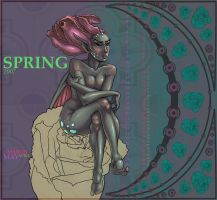 Spring Fairy by Enchantress-LeLe