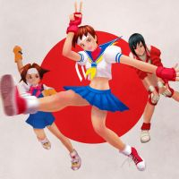 SF Tribute: Sakura Kasugano by emummy