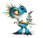 Daily Paint #640. HTTYD Stormfly by Cryptid-Creations