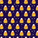 Tutorial: Candy Corn Pattern Vector by marywinkler