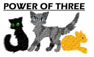 Power of Three, mosaic by Spottedfire-cat