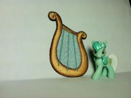 Lyra Cutie Mark Patch by ScrwLoose