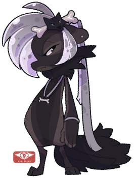 #019 Perfaunt - Black Timber Wolf -AUCTION- CLOSED by Sindonic