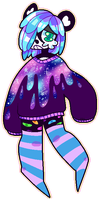 [TRADE] SPACE PANDA by Sluggy-Slimes