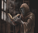Keeper of the Ancient Library by Crowsrock