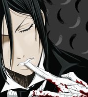 Black Butler: The Butler from Hell by EzmeAG98