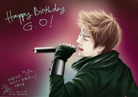 G.O ~ happy birthday! by zieLarc